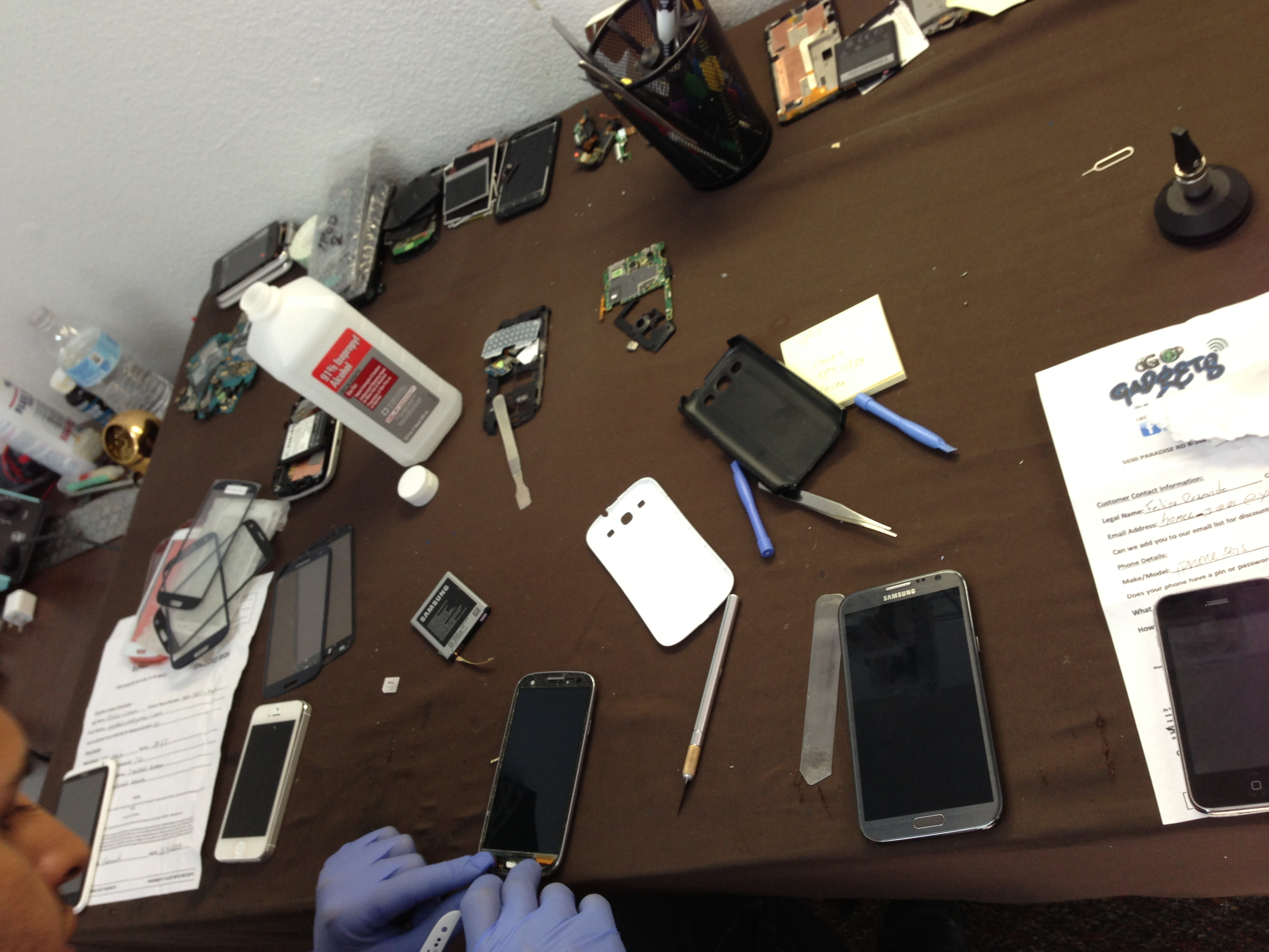 iPhone 5 screen repair Las Vegas